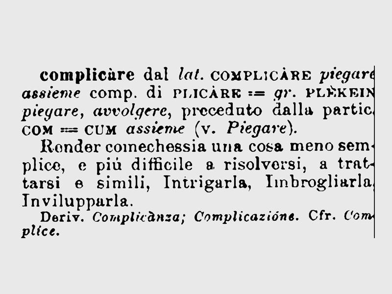 UFFICIO COMPLICAZIONE COSE SEMPLICI.